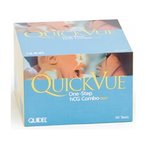 QuickVue One-Step Pregnancy Combo