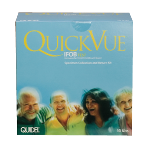 QuickVue iFOB - Specimen Collection and Return Kit (10)