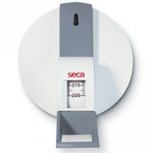 Seca 206 Roll-up measuring tape with wall attachment