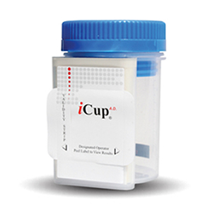 iCup AD - 10 panel (25 count) COC THC OPI AMP mAMP BZO BAR OXY MTD PPX (OX CR PH)